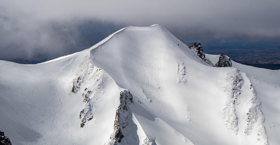 Mont-Dore Auvergne, enneigé