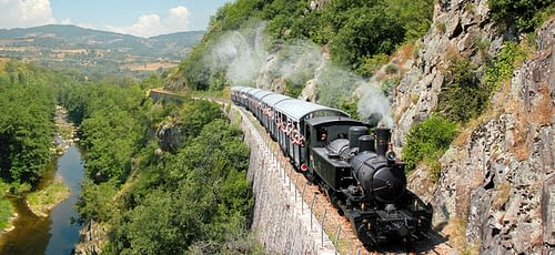 Train du Mastrou en Ardèche